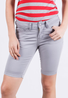 Short Pants - Gray - Slim Fit