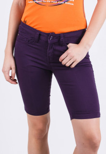 Short Pants - Purple - Straight