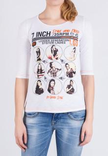 Regular Fit - Ladies T-Shirt - White - Ladies