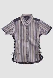 Regular Fit - Ladies Shirt - Brown - Salur Custom