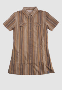 Regular Fit - Ladies Shirt - Brown - Salur