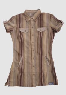 Regular Fit - Ladies Shirt - Brown - Salur