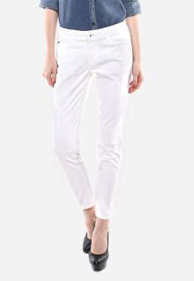 Celana Panjang - Putih - Katun