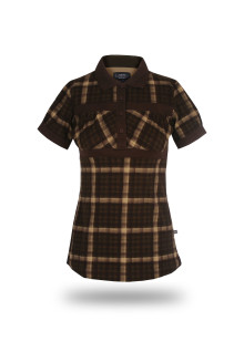 Regular Fit - Wangki - Brown - Plaid T Shirt