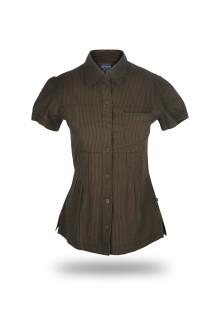 Regular Fit - Wangki - Dark Brown - Salur T-Shirt
