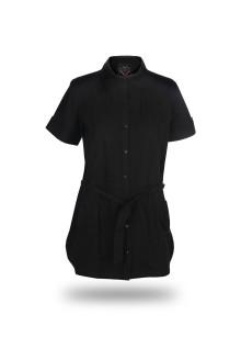 Regular Fit - Ladies Shirt - Black - Fashion