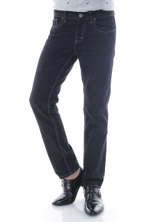 Slim Fit - Jeans Panjang - Premium Jeans - Hitam