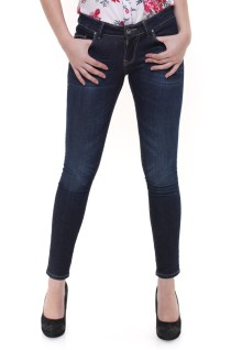 Premium Jeans - Whiskers - Detail Washed - Biru