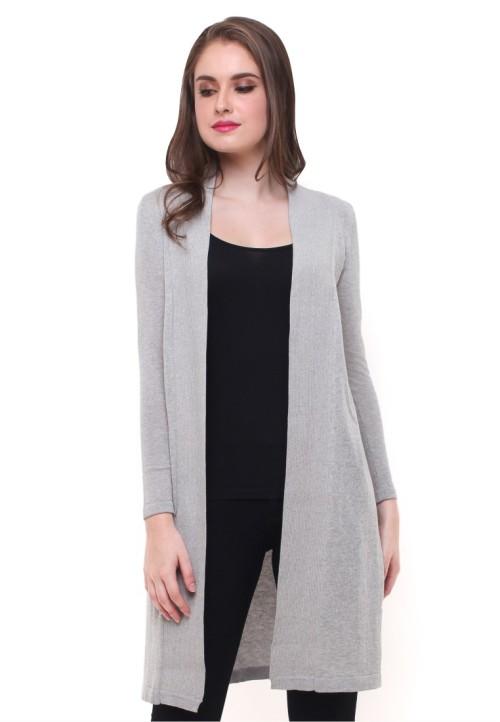 Sweater Wanita - Model Terusan - Abu 20c466da2c