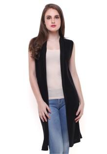 Sweater Wanita - Model Terusan - Hitam