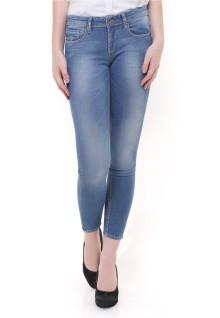 Premium Jeans - Detail Washed - Biru