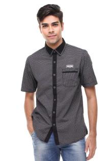Slim Fit - Fashion Shirt - Bermotif - Hitam