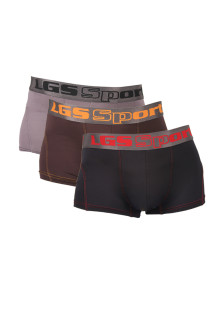 Boxer - Paket 3 - Hitam