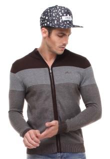 Sweater Pria - Multi Warna - Abu