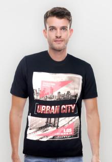Slim Fit - Youth Boy - Urban City - Hitam