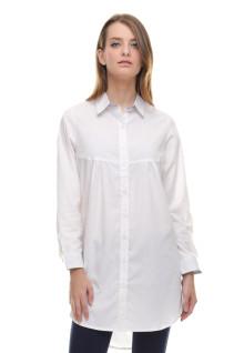 Regular Fit - Kemeja Wanita - Dress - Polos - Putih