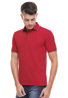 Slim Fit - Kaos Polo - Model Basik - Merah
