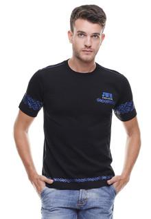 Slim Fit - Kaos Casual Active - Logo Dada- Hitam
