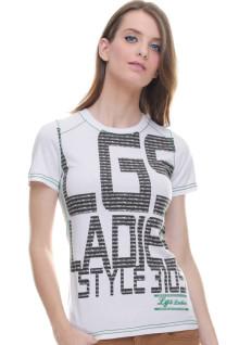 Regular Fit - Kaos Wanita - Style 3105 - Putih