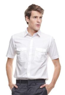 Regular Fit - Kemeja Formal - Double Kantong - Putih