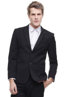 Slim Fit - Formal Suit - Single Vent - Hitam