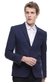 Slim Fit - Formal Suit - Double Vent - Navy