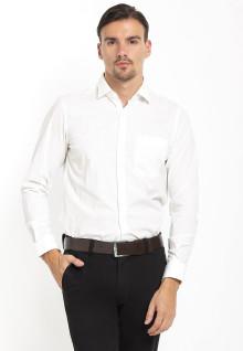 Slim Fit - Kemeja Formal - Lengan Panjang - Putih