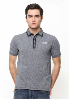 Slim Fit - Polo Shirt - Rubber Cuff - Abu