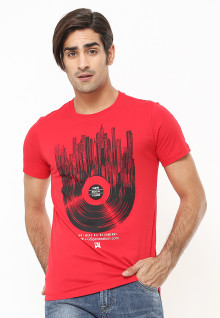 Slim Fit - Kaos Youth - Be Comfort - Merah