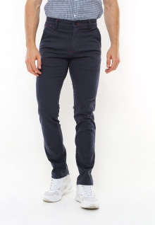 Slim Fit - Casual Active - Strecth - Chinos - Biru Navy
