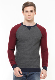 Body Fit - Sweater Active - Variasi Warna - Abu