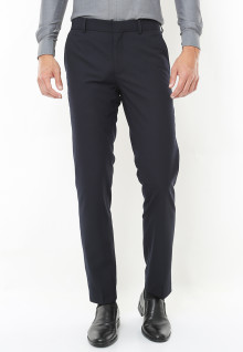 Slim Fit - Celana Formal - Navy