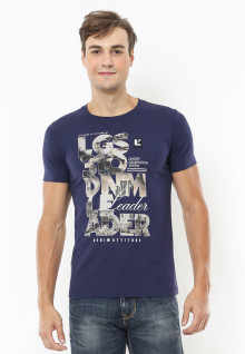 Slim Fit - Kaos Youth - Motif Sablon 310 DNM  Leader