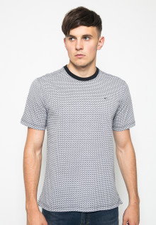 Kaos Casual - Full Motif - Putih