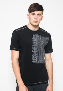Kaos Fashion - Gambar Sablon - Hitam