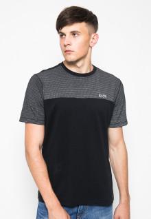 Kaos Fashion - Motif titik - Hitam
