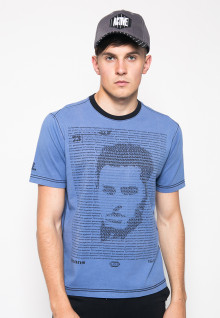 Kaos Fashion - Gambar Sablon - Biru