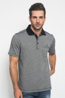 Regular Fit - Kaos Casual - Motif Polos - Abu