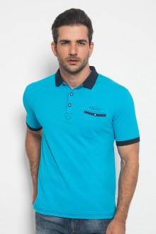 Slim Fit - Polo Active - Polos - Biru