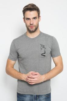 Slim Fit - Kaos Casual Active - ACTV - Abu