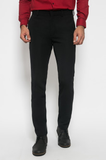 Slim Fit - Formal Pants - Polyester 918 - Hitam