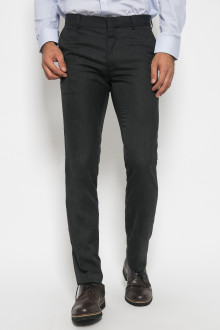 Slim Fit - Formal Pants - Polyester 913 - Hitam