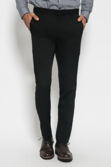 Slim Fit - Formal Pants - Polyester 885 - Hitam