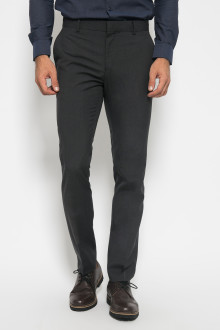 Slim Fit - Formal Pants - Polyester 911 - Abu