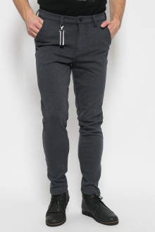Jogger Pants - Double Pocket - Slim Leg - Abu