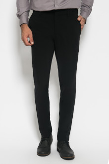 Slim Fit - Formal Pants - Polyester 891 - Hitam