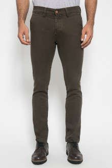 Chinos - Stetch - Slim Leg - Olive