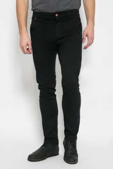 Chinos - Stetch - Slim Leg - Hitam