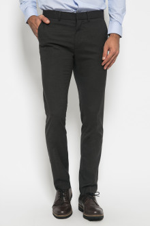 Slim Fit - Formal Pants - Polyester 927 - Hitam