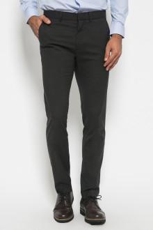 Slim Fit - Formal Pants - Polyester 927 - Hitam